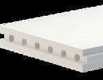 Гипсовые пазогребневые плиты обыкновенные (пустотелые) AKSOLIT 667х500х80 мм 19 кг