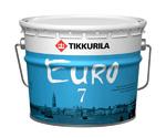 Тиккурила Евро 7 Краска интерьерная моющаяся 9л