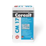 Клей плиточный Ceresit СМ 17 Высокоэластичный клей 25кг