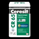Гидроизоляция Ceresit CR 65 цементная гидроизоляционная масса 5кг