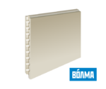 Пазогребневые плиты (ПГП) ВОЛМА (пустотелые) 667х500х80 мм 22 кг