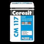 Клей плиточный Ceresit СМ 117 для фасадной плитки 25кг