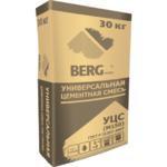 Смесь цементно-песчаная УЦС BERGhome М-150 30кг